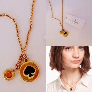 Kate Spade | NWT Spot The Spade Necklace